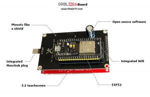 GRBL 32bits board Presentation – MakerFr